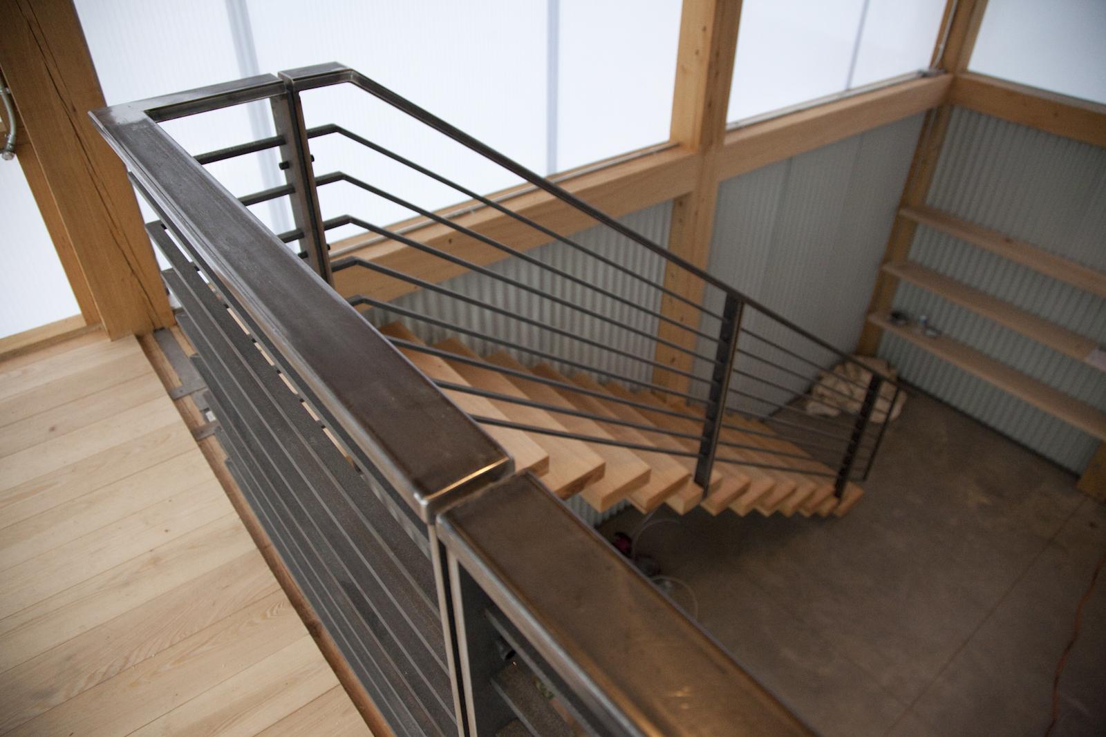 Montagne Design Build Staircase