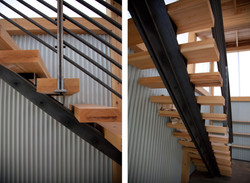 Montagne Steel Staircase