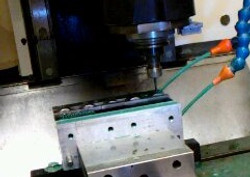 CNC Drilling On A Milling Center