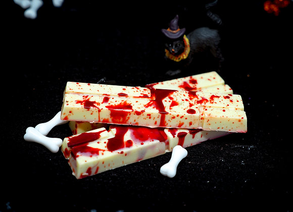 Blood Splatter Chocolate Bar