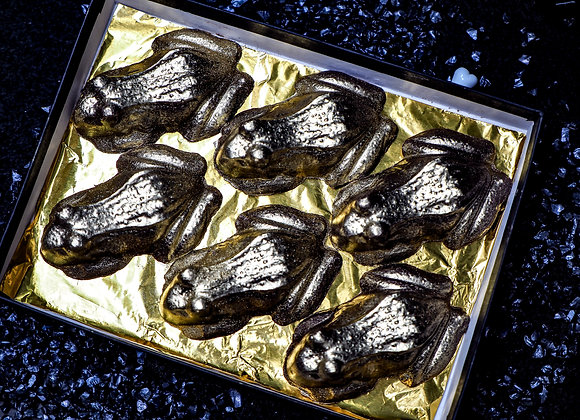 Chocolate Frogs with Butterbeer Filling