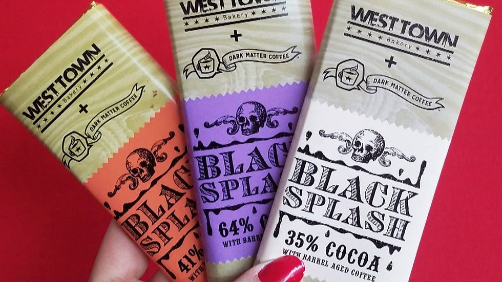 Black Splash Chocolate Bar Trio