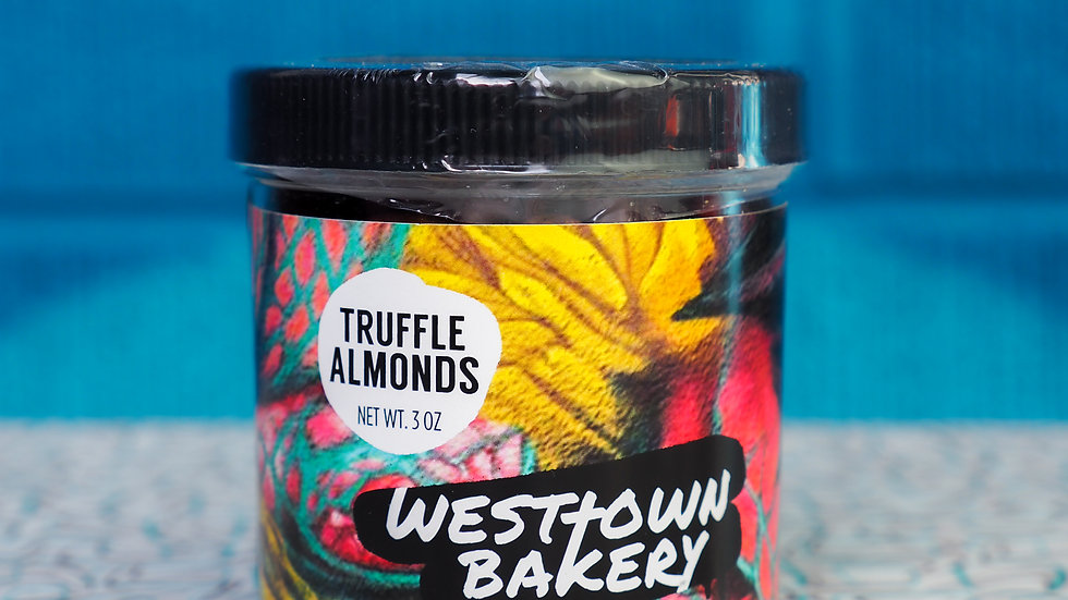Truffle Almonds Jar