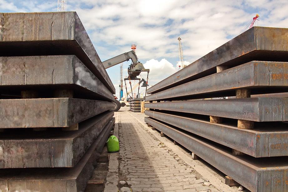 heavy steel plate shipping