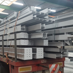 fabricated steel columns