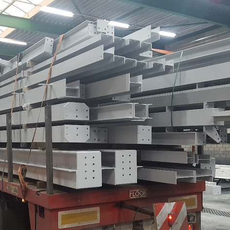 fabricated steel columns