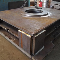 fabricated steel plates