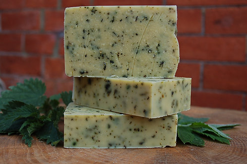 Nettle & Mint Goats Milk Soap
