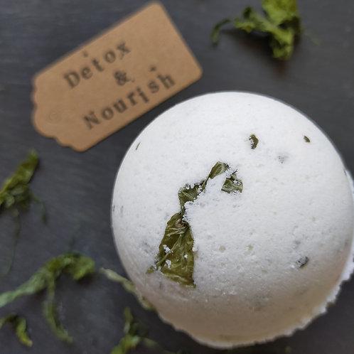 Detox & Nourish Botanical Bath Bomb