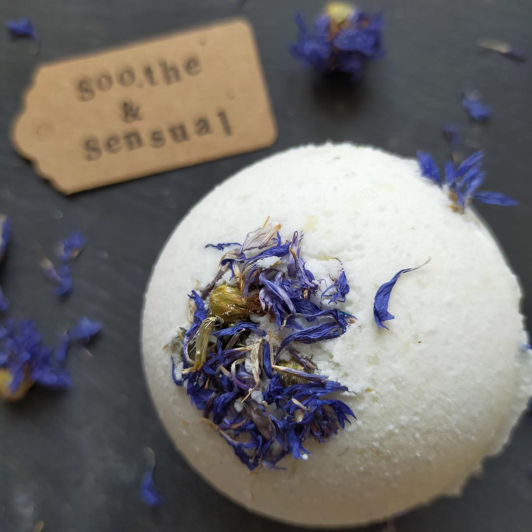 Soothe & Sensual Botanical Bath Bomb