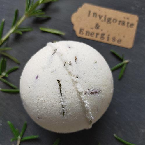 Invigorate & Energise Botanical Bath Bomb