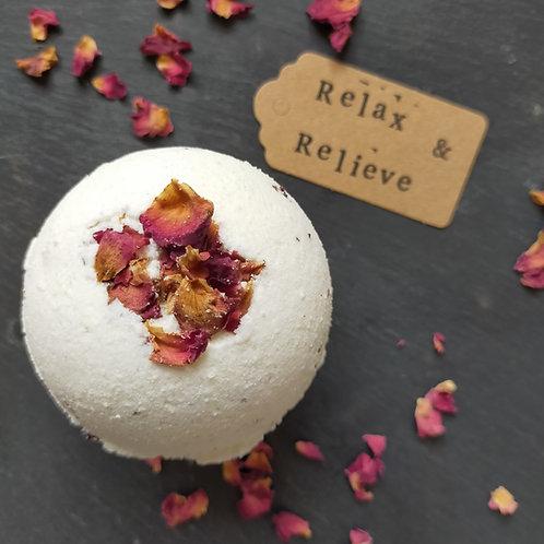 Relax & Relieve Botanical Bath Bomb