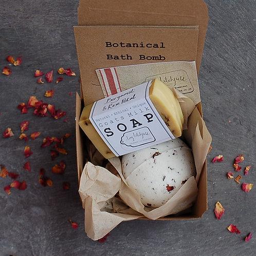 Bath Bomb and Soap Gift Box