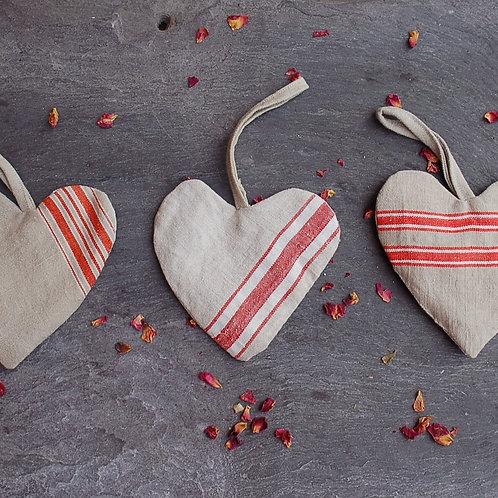 Linen Herby Heart