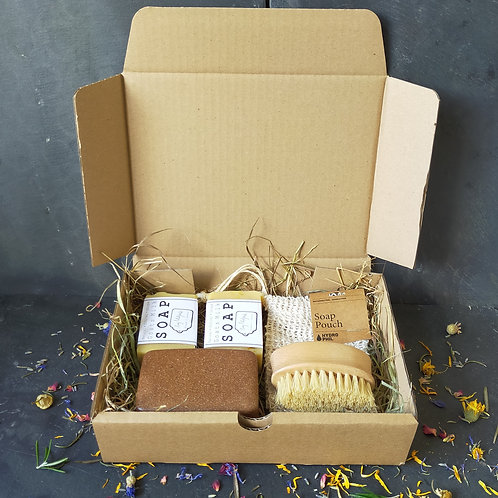 Soap & Accessories Gift Box