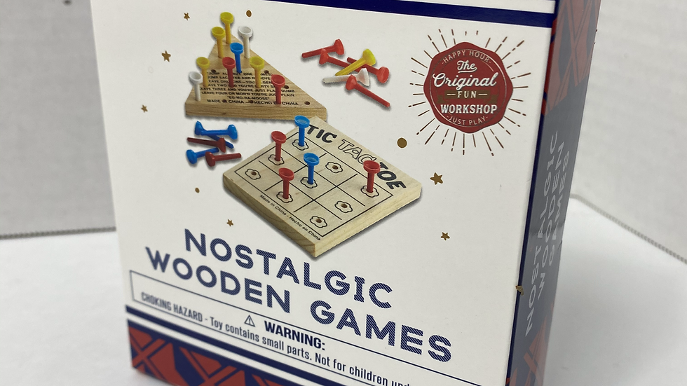 Nostalgic Wooden Games