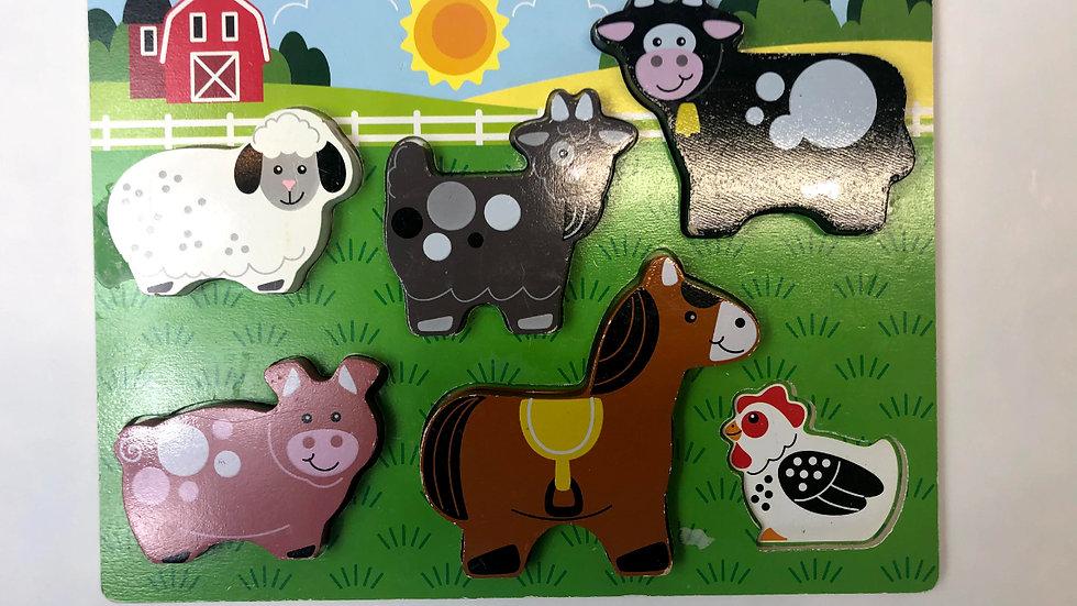 Melissa & Doug Animal Puzzle