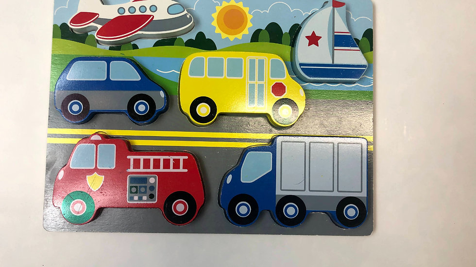Melissa & Doug Truck Puzzle
