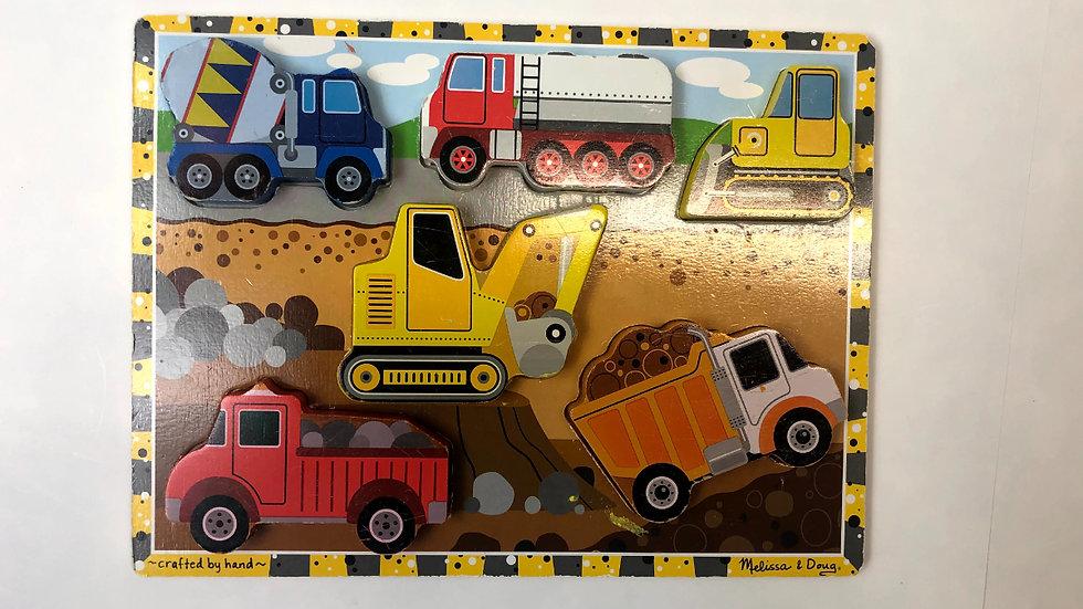 Melissa & Doug Construction Puzzle
