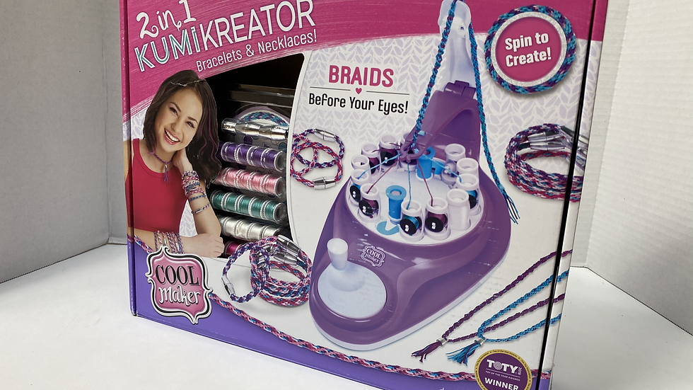 2 in 1 Kumikreator– Bracelet and Necklace Creator Kit