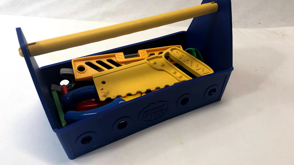 Green Toys Tool Box and Tools