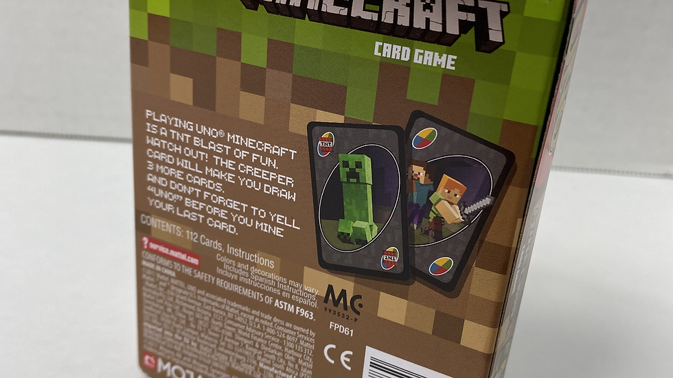 UNO Minecraft Edition