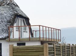 Ny terrasse i Aborg