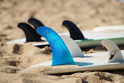서핑 보드 지느러미