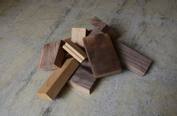 家具工場から出た端材