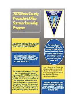 ECPO Summer Youth Internship Flyer 1-22-