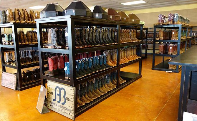 Ranch Rack Boot Racks