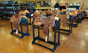 Ranch Rack Saddle Racka