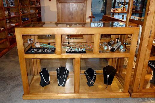 Ranch Rack Custom Showcase Display Cabinet