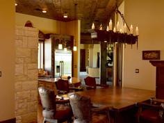 Copper Countertop Kitchen Table
