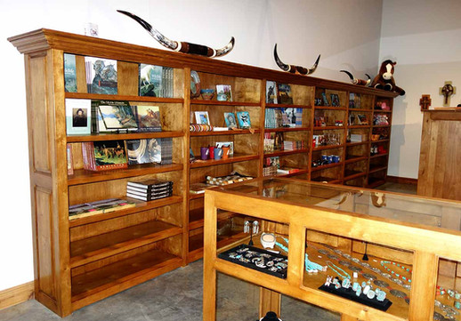 Ranch Rack Large Display Rolling Bookcase