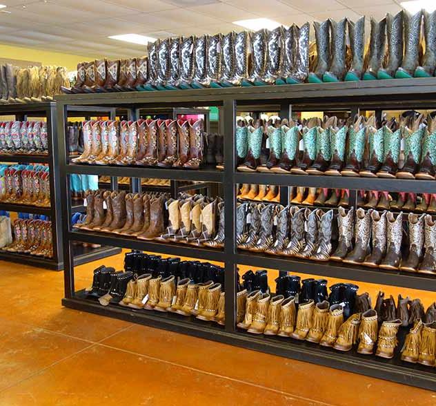 Rolling Boot Racks