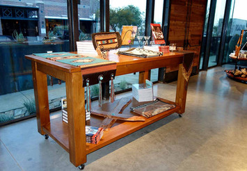 Ranch Rack Large Rolling Display Tables