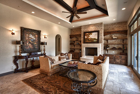 Hill Country Living Room