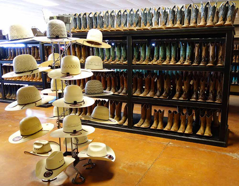 Ranch Racks for Hats and Boots