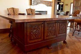 Hand Carved Desk