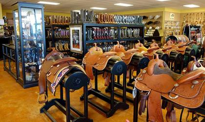 Saddle Racks and Display Cabinets