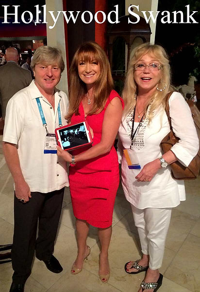 Rob Kendrick and Catrina Kendrick with Jane Seymour in Las Vegas