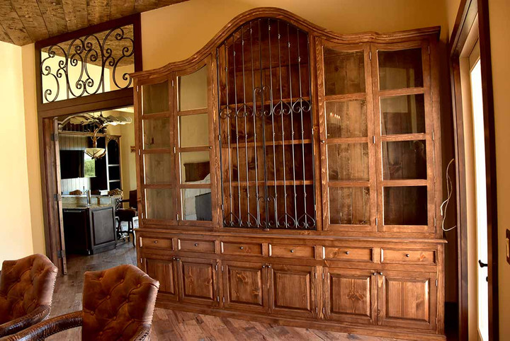 Large Hand Crafted Armoire