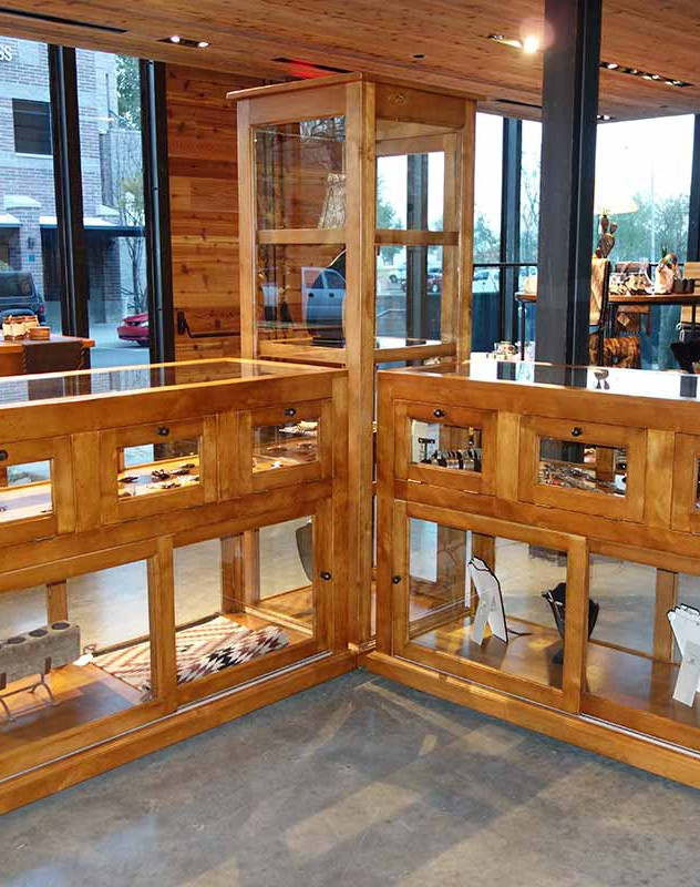 Ranch Rack Display Cabinets