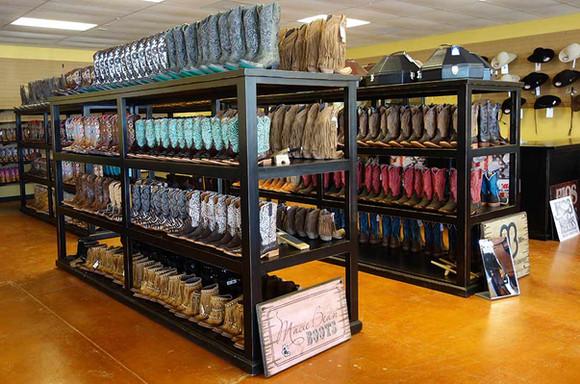 Ranch Rack Rolling Boot Racks