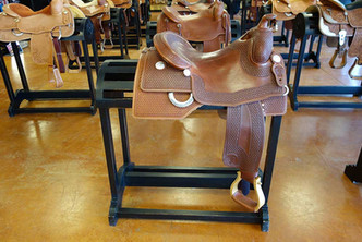 Ranch Rack Saddle Displays