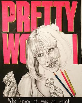 #prettywoman #drawing #draw #art #instaa