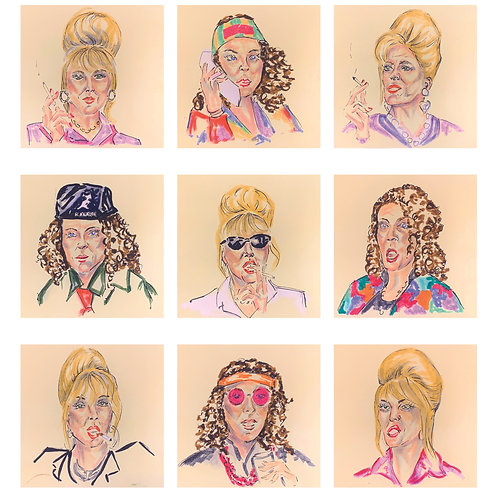 Absolutely Fabulous PRINT