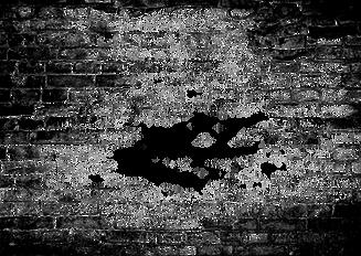 Grunge Ziegelstein-Transparent