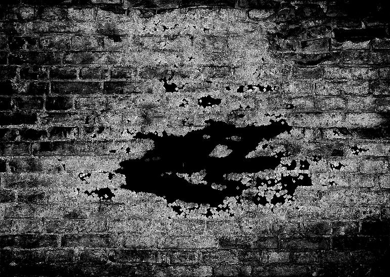 Tijolos de Grunge Transparente